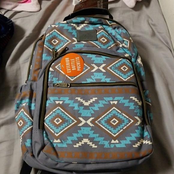 adf88f3d471 Kelty Aztec diaper backpack NWT